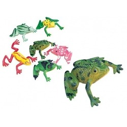 Frogs bag 3cm O (per 72)  Plastic/Rubber Frogs