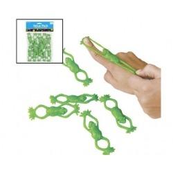 Vliegende kikker (12 stuks)  Plastic/Rubber Kikkers€ 1,24