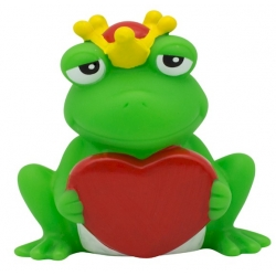 Frog with heart LILALU  Plastic/Rubber Frogs