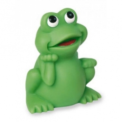 Frog standing small DR  Plastic/Rubber Frogs