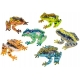 Frogs bag 7cm RO (per 8)  Plastic/Rubber Frogs