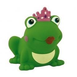 Kikker koningin met kroon gekleurd D  Plastic/Rubber Kikkers€ 2,89