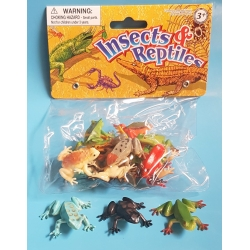Frogs bag 3,5cm SH (per 12)  Plastic/Rubber Frogs