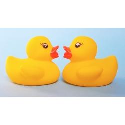 Rubber duck mini yellow B (100: € 0,90)  Order also Rubber Ducks