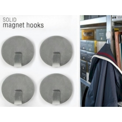 Magnet hook super strong silver (per 4)  Order also Magnets