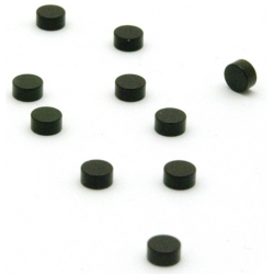Super strong mini magnets black (set of 10)  Order also Magnets