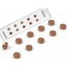 Super strong mini magnets copper (set of 10)
