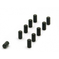 Super strong magnum black (set of 10)  Order also Magnets