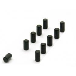 Supersterke magneetjes magnum zwart (set van 10)  Magneetjes mee bestellen€ 6,40