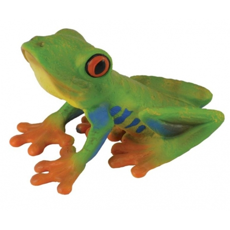 Red-eyed tree frog  Plastic/Rubber Frogs