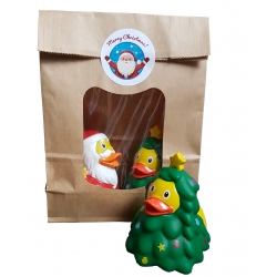 DUCKYbag Christmas 2 pieces  Order also Rubber Ducks