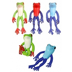 Stretch kikkers (set of 3)  Plastic/Rubber Frogs