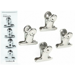 Magnet clip Graffa (4 pieces)  Order also Magnets