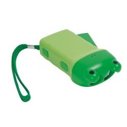 Frog dynamo flashlight